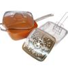 Μαγειρικό σκεύος - τηγάνι μπρονζέ 6 σε 1! (24cm)