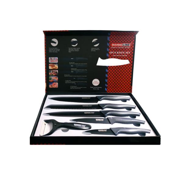 Ελβετικά Μαχαίρια Κουζίνας SWISSLINE σετ